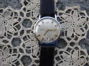 Bel orologio vintage enicar con data collezione