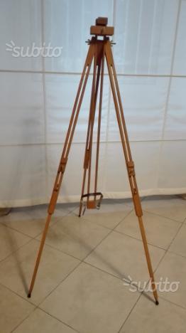 Cavalletto pieghevole da pittore posot class for Cavalletto pittore