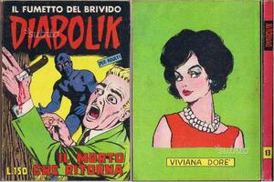 Diabolik 1° serie n° 13 originale edicola