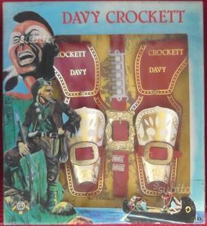 Fondine davy crockett vintage anni 80