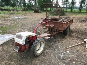 Carretto per motocoltivatore o piccolo trattore posot class for Motocoltivatore carraro