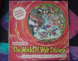 Puzzle  il mondo di walt disney made in englan