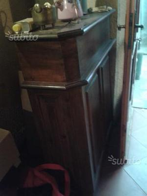 Mobile bar piattaia tavernetta in pino posot class - Mobili valvaraita ...