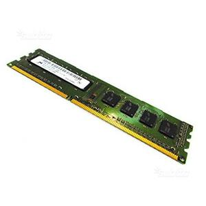 4 GB RAM PC DIMM MEMOR mt8jtfaz-1g6e1 DDR3 P