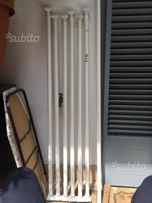 Doppie tende con bastoni in legno bianco ikea posot class - Ikea bastoni per tende ...