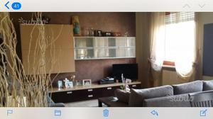 Mobile soggiorno moderno rovere sbiancato e wenge | Posot Class