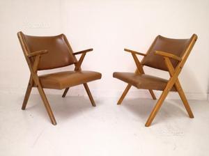 Poltroncine anni 50 vintage modernariato