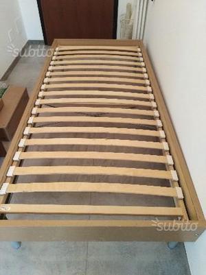 Vendo base di legno ikea corrispettive doghe posot class - Letto in legno ikea ...