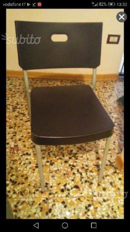 Tavolo I vetro + 4 sedie