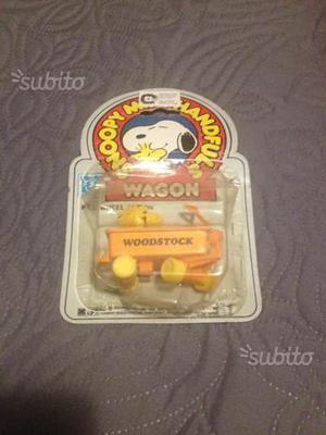 Giocattolo Snoopy vagoncino vintage