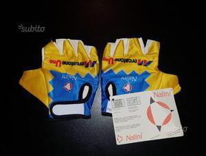 Guanti ciclismo Mercatone Uno mod. Pantani Nuovi
