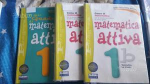 Libri Matematica 1^ 2^ 3^ MEDIA metà prezzo