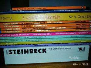 Libri vari in lingua inglese