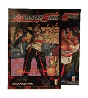 Monster Soul - SERIE COMPLETA 2 Volumi - Manga Sta