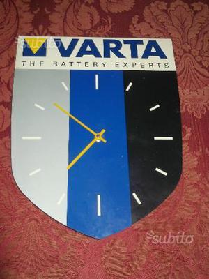 Orologio da parete vintage Varta modernariato
