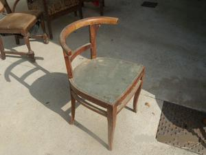 Sedia con schienale vintage