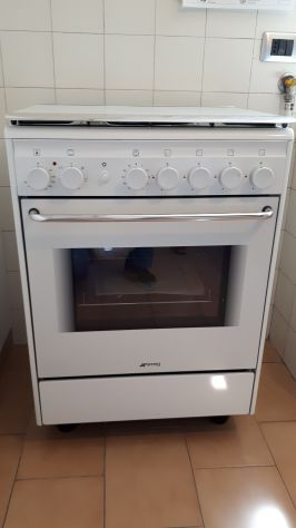 Cucina a gas Smeg 4 fuochi + forno