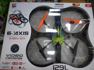 Drone elicottero rc quadcopter w/ hd