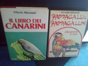 LIBRO CANARINI e PAPPAGALLINI