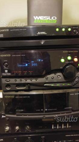 Stereo Kenwood con Casse 80w