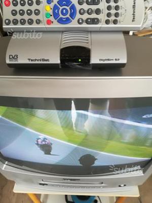 TV Samsung con decoder sat e parabola