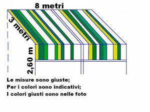Tendaggio tenda calata drappeggi posot class for Tenda da sole usata