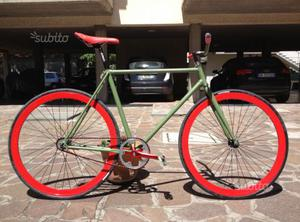 Bici single speed freno a Contropedale