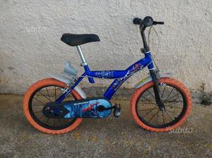 Bicicletta Spiderman 14'' per bambino