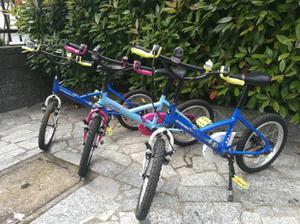 Bicicletta bambino e bambina BTWIN