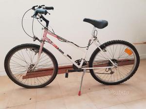 Bicicletta mountain bike da sistemare