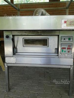 Forno elettrico per pizze e pane