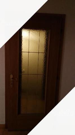 Porte da interno in legno con e senza vetro