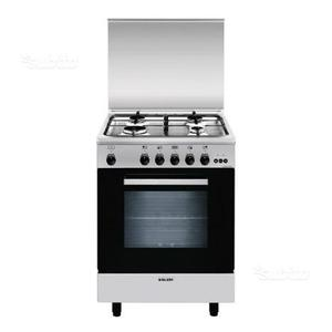 Cucina a gas GLEM inox 60x50 come nuova