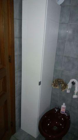 Mobile per bagno bianco