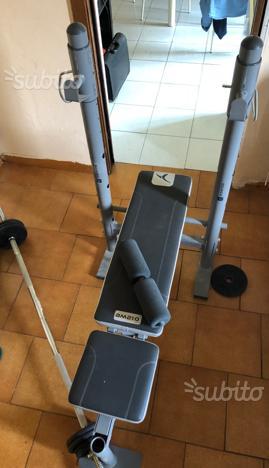 Panca per bilanciere DOMYOS + Accessori