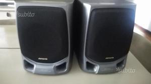 Casse stereo speakers aiwa 30w