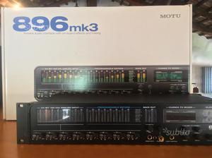 MOTU 896 mkIII firewire