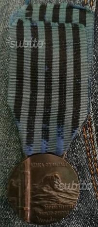 Medaglia campagna d africa orientale