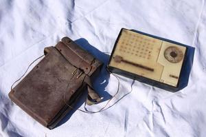 Radio anni 50 con custodia originale