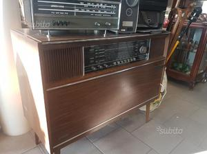 Radio giradischi anni 70