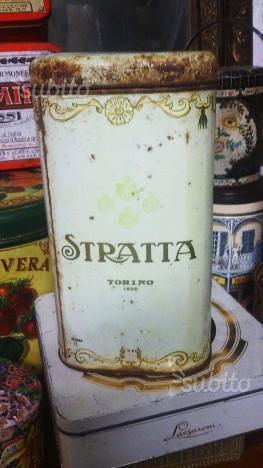 Scatola di latta da collezione Luigi Stratta
