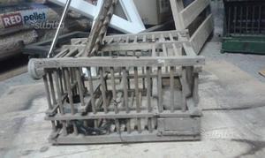 Stupemda gabbia in legno anni '50