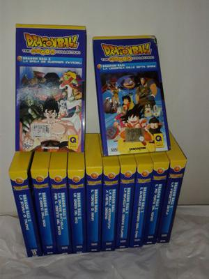 VENDO DRAGON BALL SERIE BLU (RARA) N° 12 CASSETTE VHS