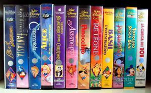 48 VHS Disney Originali / cartoni animati