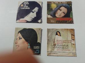 Collezione 4 dischi in vinile di Rosanna Fratello