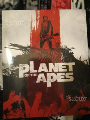 Il pianeta delle scimmie cofanetto 8 bluray