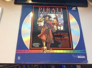 """Laser Disc Film """"Pirati"""" come Nuovo"""
