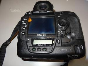 Nikon d3 usata pari al nuovo solo solo  sca