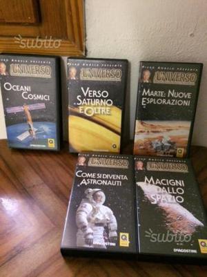 Raccolta videocassette di astronomia