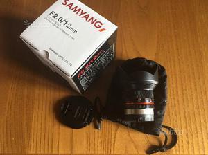 Samyang 12mm f2 Fuji X mount